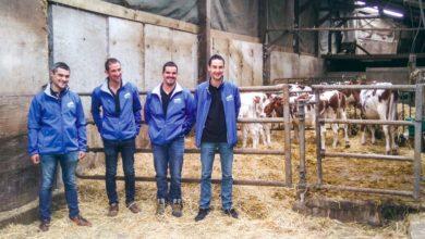 Passionnés par leur métier, les responsables du bureau lait des Jeunes Agriculteurs souhaitent promouvoir le métier pour favoriser des prochaines installations.