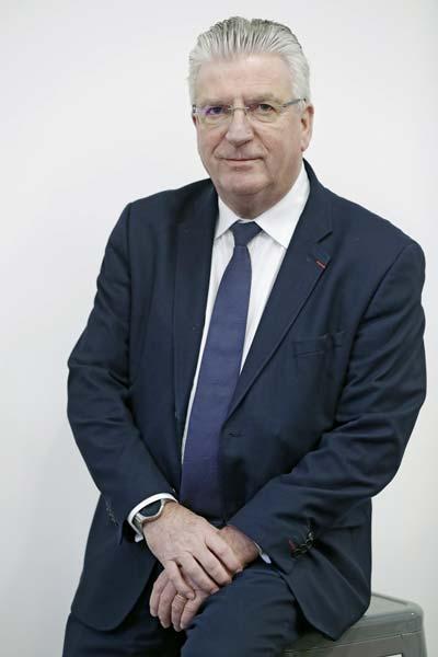 Dominique Langlois, président d'Interbev