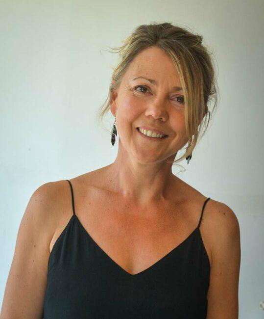 Sophie Roguet, gestionnaire au collège d'Arradon