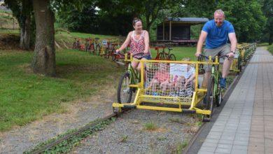 Photo of Balade en vélo sur les rails