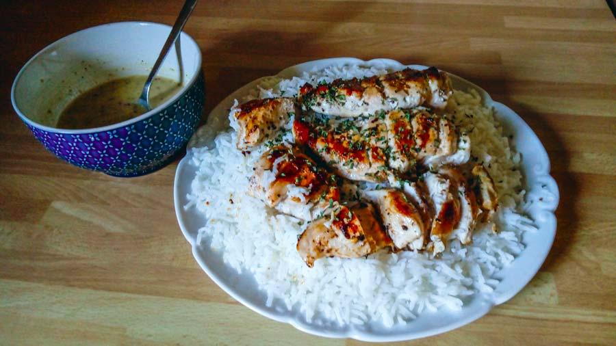 poulet-grille-marine