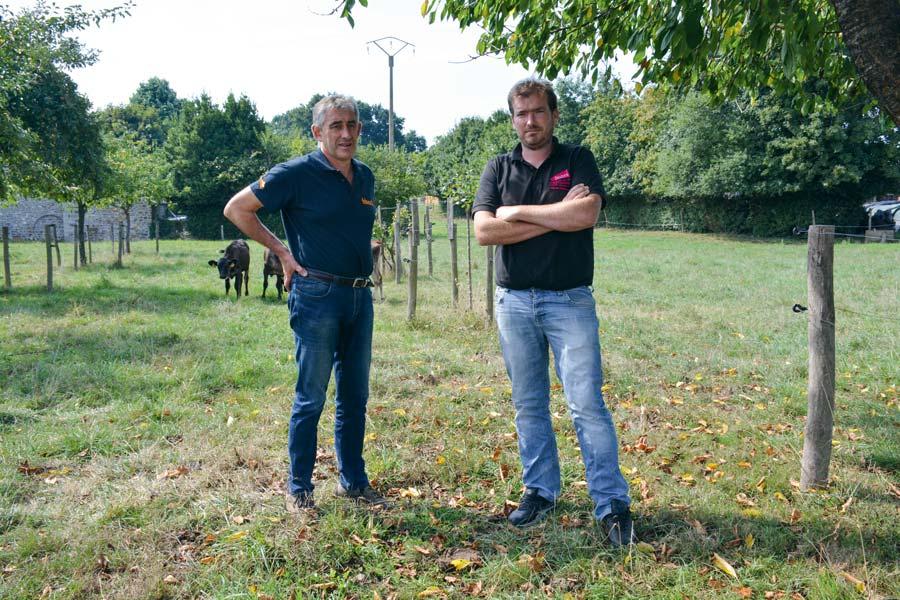 Loïc Guines, 55 ans, et Florian Salmon, 33 ans, se lancent en campagne pour les élections de janvier prochain.