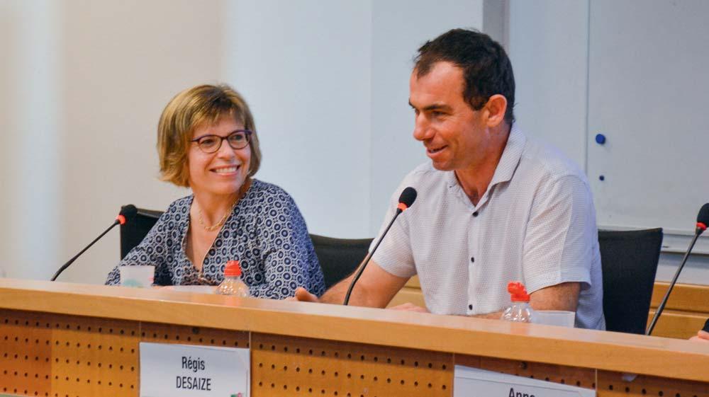Carine et Régis Desaize.