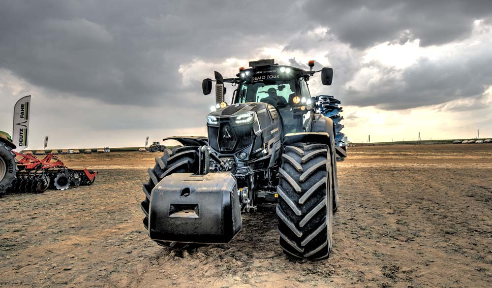 Les nouveaux tracteurs « warriors » sont proposés en édition limitée.