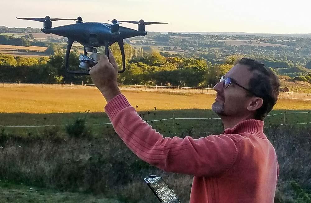 Littomatique utilise les nouvelles technologies et notamment le drone pour concevoir des cartes adaptées aux besoins de ses clients.