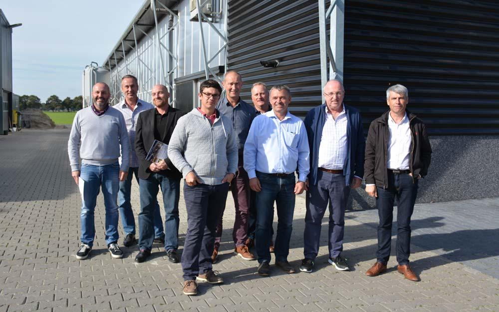 Les participants au voyage d'études organisé par la Région Bretagne en Allemagne et aux Pays-Bas.
