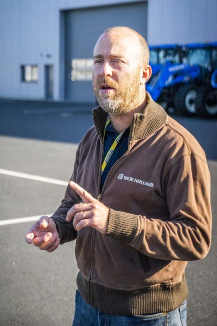 Nicolas Morel, Responsable produit tracteur New Holland