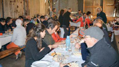 Photo of Bénévoles et bénéficiaires de Solidarité paysans en journée festive