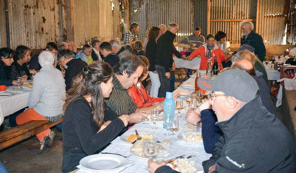 Une cinquantaine de personnes se sont réunies à Surzur, samedi 6 octobre.