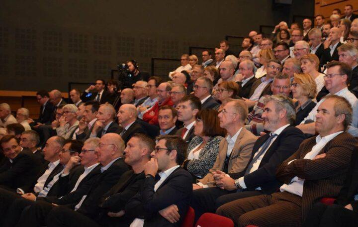 Quelque 200 personnes ont pris part à la troisième Conférence des Territoires organisée par le Crédit Mutuel de Bretagne.