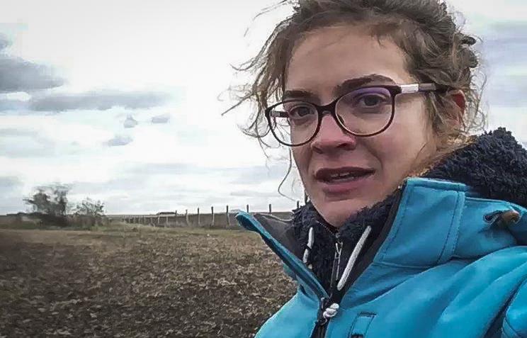 Opaline Lysiak, lors de son tour du monde, a rencontré des agriculteurs adeptes de l'agriculture de conservation.