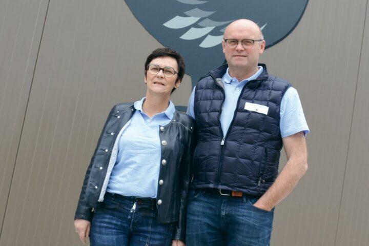 Alain et Annick Corbel.