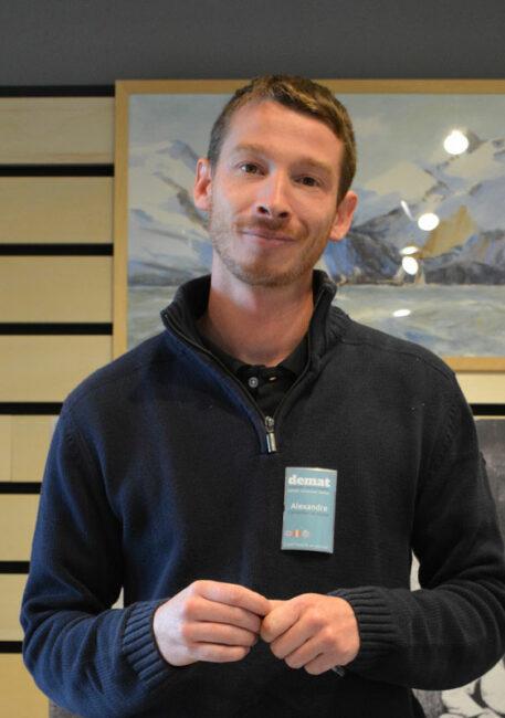 Alexandre Porteneuve, assistant conservation pour l'association Plaeraneg Gwechall