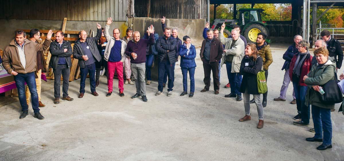 Une cinquantaine de participants ont répondu présents dont 25 agriculteurs, 4 élus locaux et une douzaine de professionnels para-agricoles.