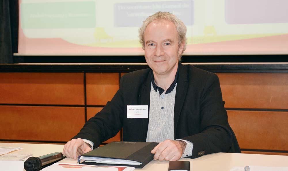 Christophe Le Gall, président de BVB.
