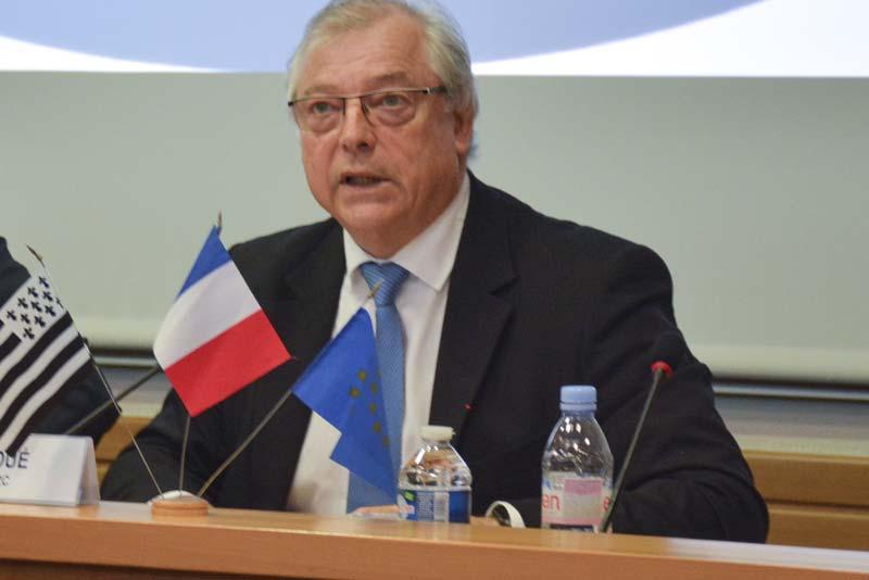 Guillaume Roué, président d'Inaporc.