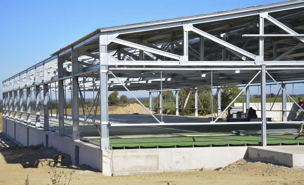 Le bâtiment en cours de construction, est désormais en service.
