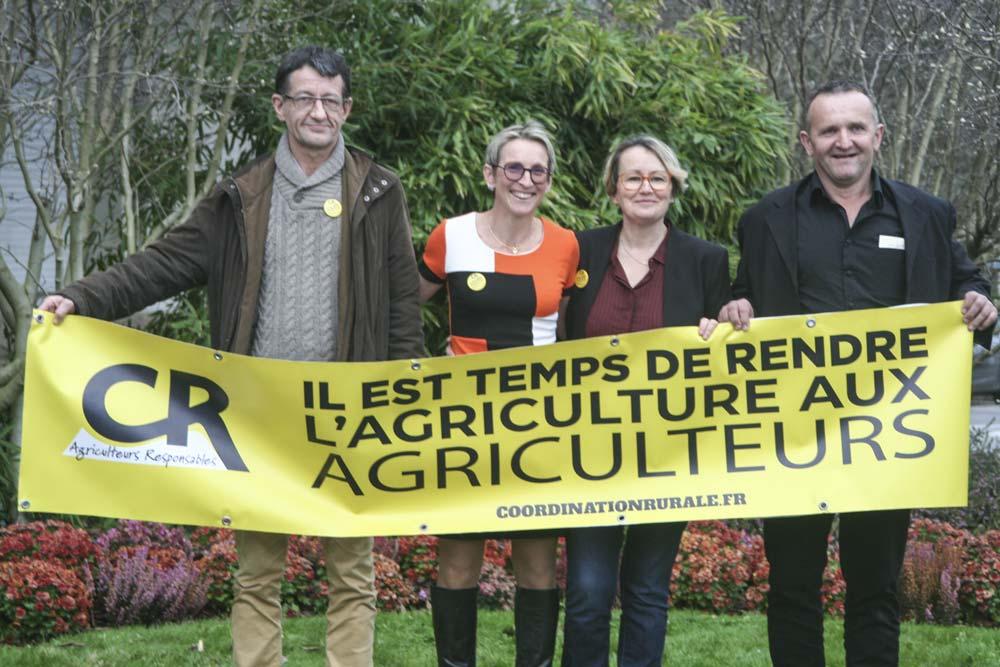 Joseph Martin (35), Véronique Le Floch (29), Anne Renouard (22) et Noël Roze (56) sont têtes de liste dans les quatre départements bretons.