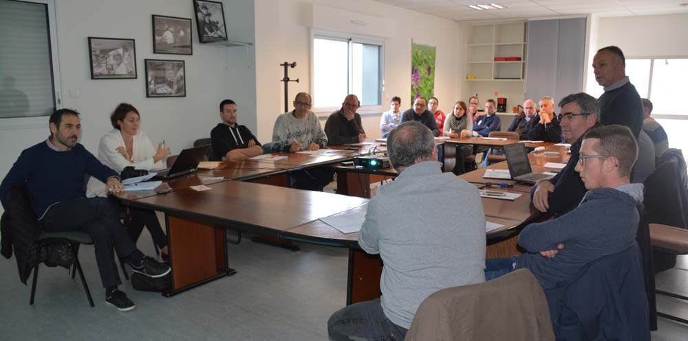 Les éleveurs de Montbéliarde 35 étaient en assemblée générale le 20 novembre à Domagné.