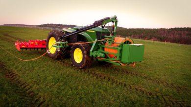 Photo of John Deere GridCON : un tracteur électrique et autonome alimenté par câble