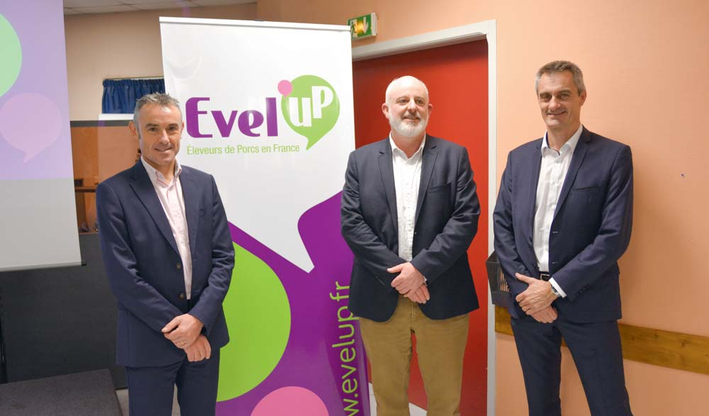 De gauche à droite : Thierry Gallou, directeur, Philippe Bizien, président délégué et Olivier Cormier, directeur délégué.