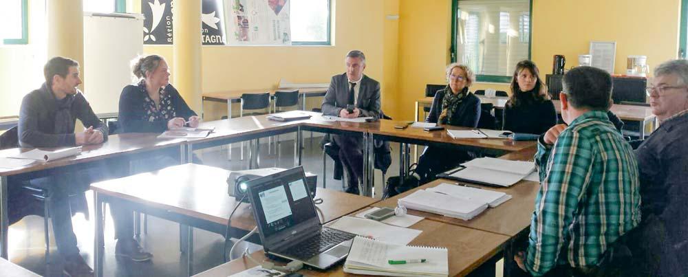 L'OP Sill Malo rencontre les députés | Journal Paysan Breton