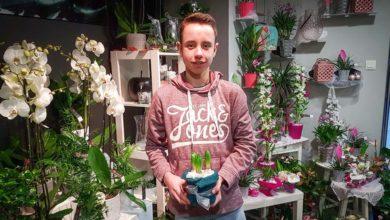 Photo of Nolann a trouvé sa voie au milieu des fleurs