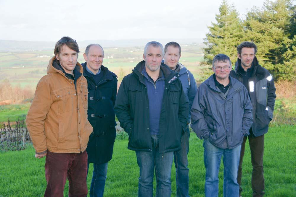 Benoît Collorec (au centre) représentera la liste UDSEA-Confédération paysanne.