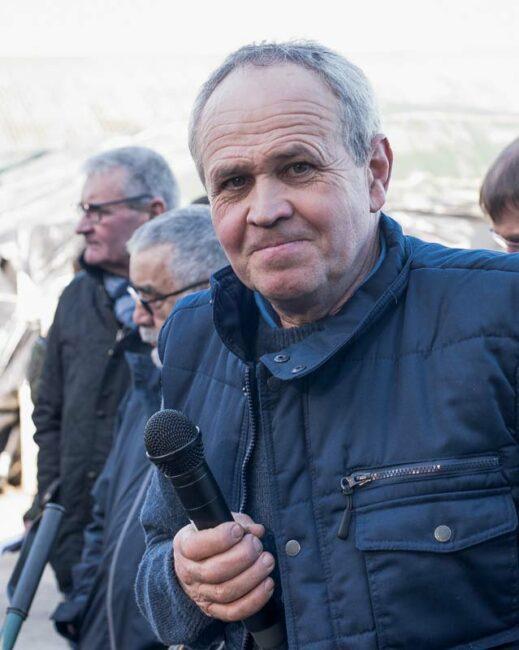 Pascal Le Moal, éleveur à Locarn (22).