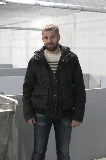 Frédéric Baudet, Éleveur à Maroué (22)