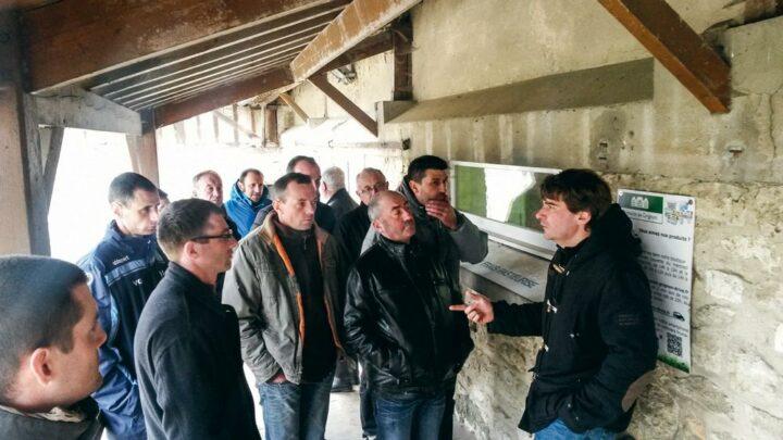 Le GIEE Polyculture-élevage a visité de la ferme expérimentale de Grignon (78) qui teste et développe des pratiques agroécologiques en cultures et élevage bovin.