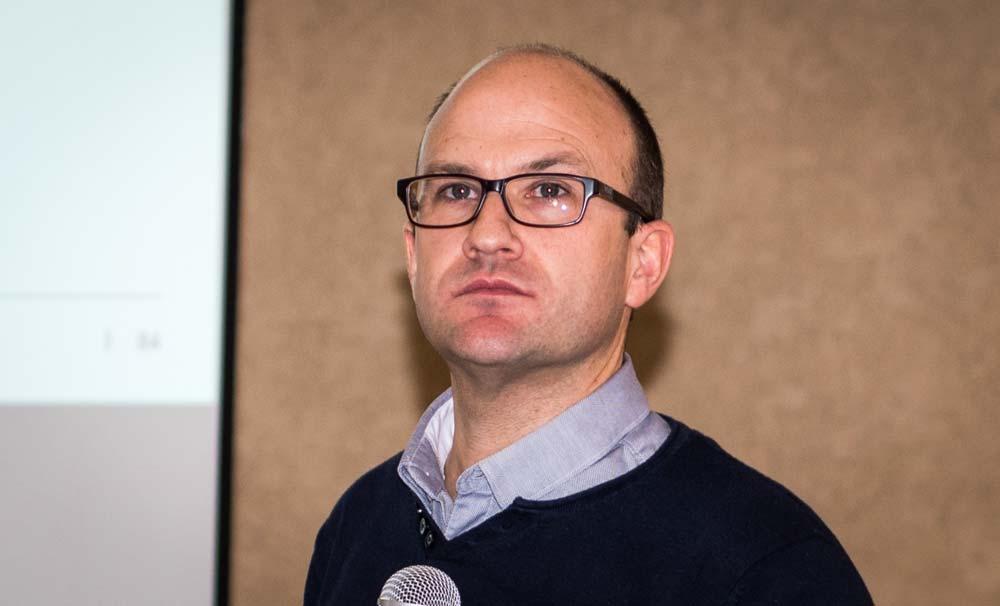 Samuel Legrand, conseiller d'entreprise du service études à l'agence CerFrance de Paimpol.