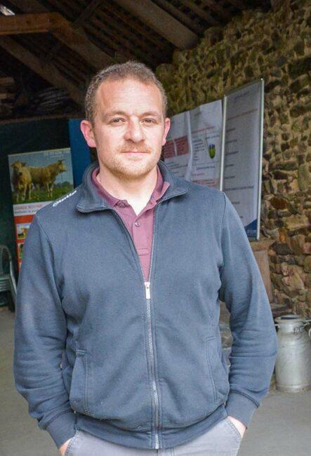 Stéphane Divouron, éleveur à Le Bodéo.