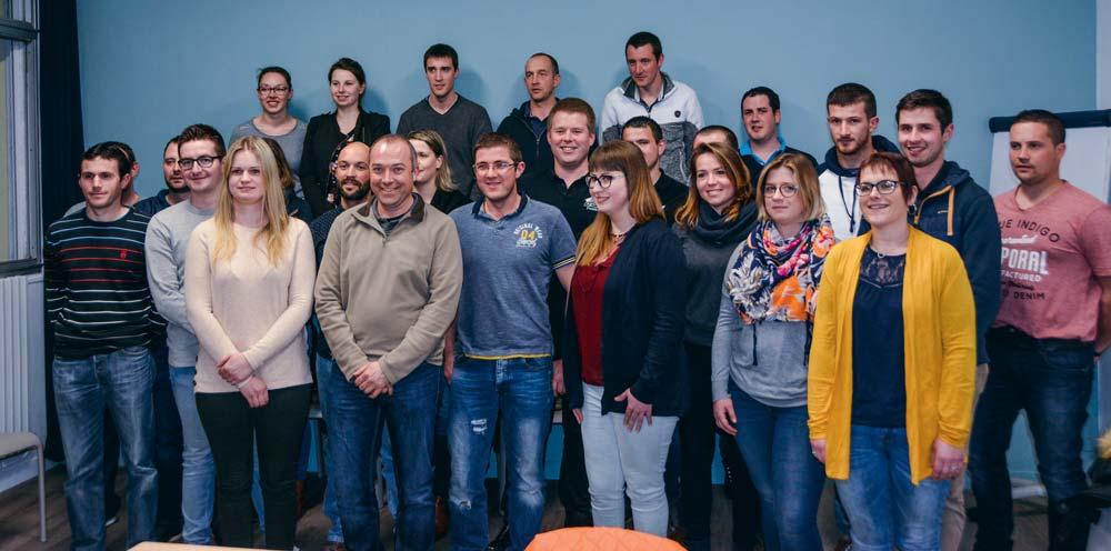 L'équipe est déjà bien fournie pour mener à bien la fête des Jeunes Agriculteurs. Elle se tiendra les 24 et 25 août, à Pleyben.