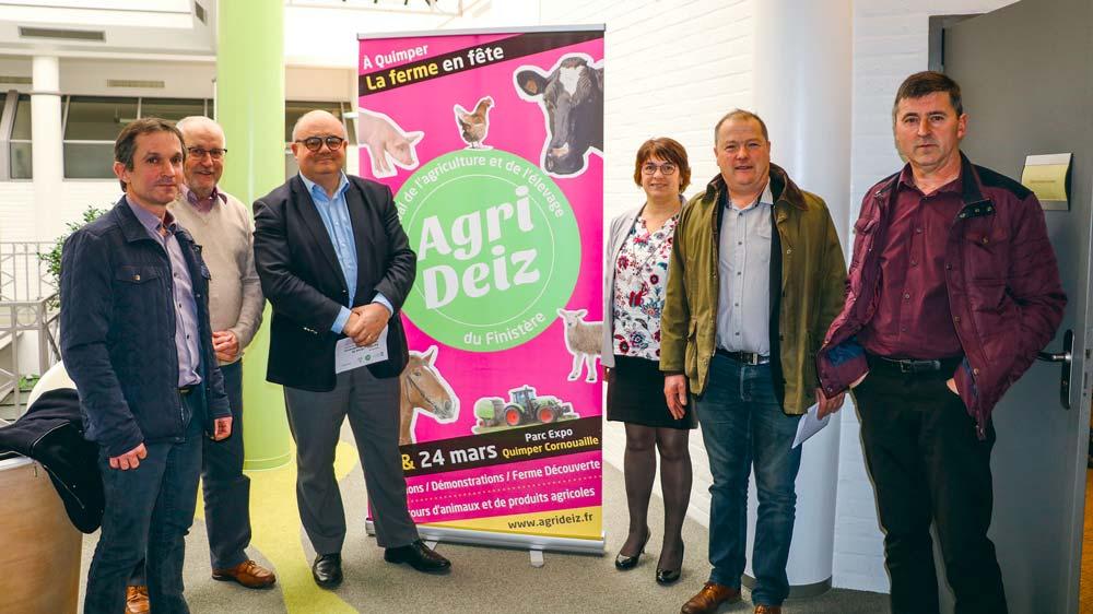 Les organisateurs et les élus ont présenté un programme varié, qui montre la diversité des productions agricoles. Cette année, l'accent est mis sur la formation.