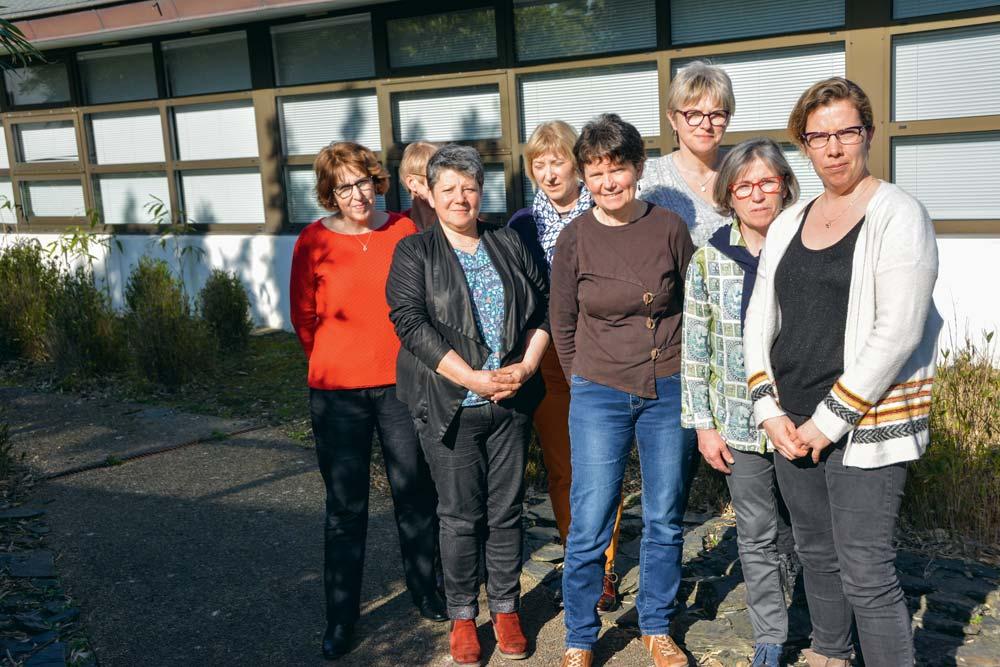 Une partie des responsables des commissions Agriculture au Féminin se sont réunies à la Chambre d'agriculture de Morlaix pour préparer les différentes opérations.