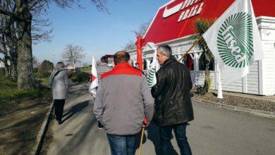 Photo of La FDSEA et les JA en visite dans des restaurants