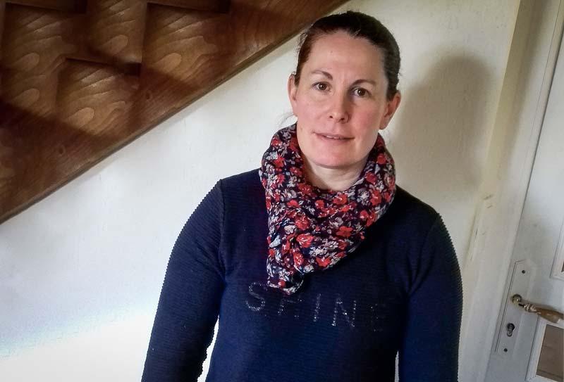 Soizic Trotel, agricultrice à Saint-Cast-le-Guildo (22)