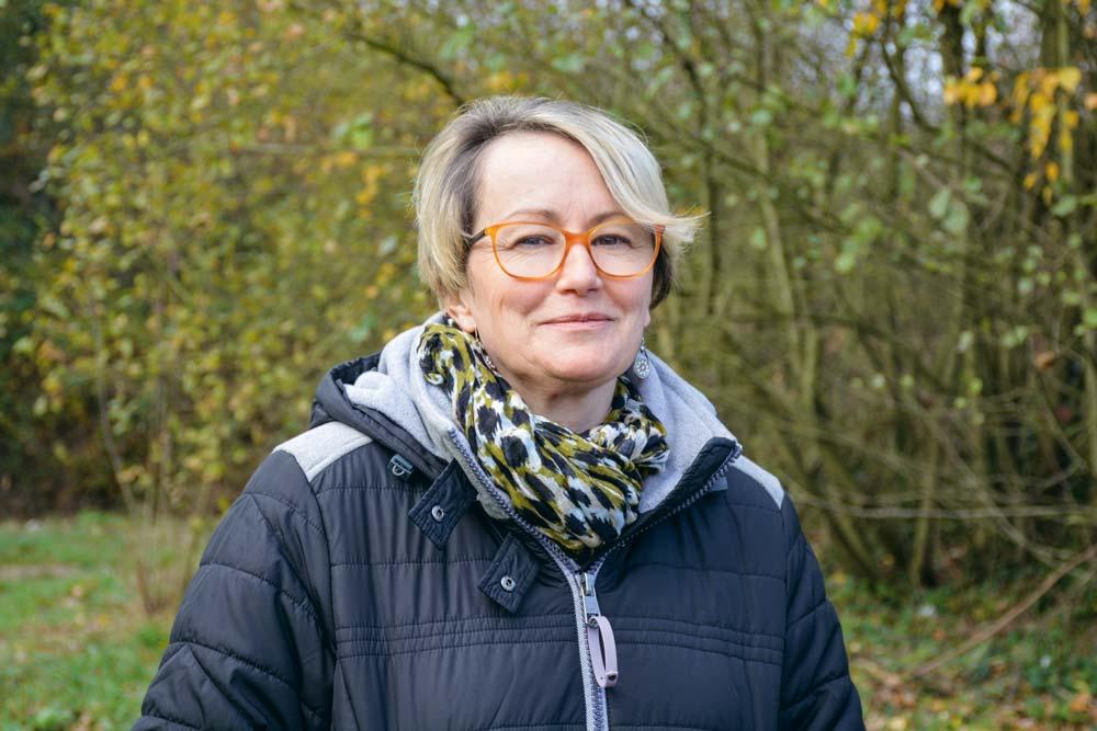 Anne Renouard, éleveuse de porc à Plaintel et présidente de la Coordination rurale des Côtes d'Armor.