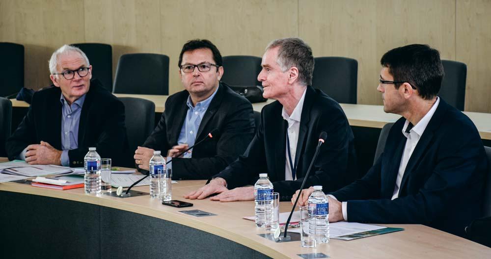 La méthanisation était au menu du dernier conseil d'administration de la Caisse de Bretagne de Crédit Mutuel Agricole. Pierre-Yves Eon et Pascal Garçon, de GRDF, ont brossé le paysage de cette filière en pleine expansion.