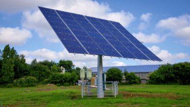 Les projets avec production d'électricité avec tracker solaire sont éligibles à l'aide de la Région.