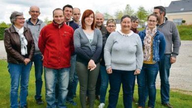 Le groupe d'Idréa prospective laitière qui organise le voyage d'études.