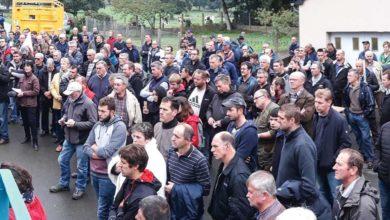 Photo of Manifestation : Les agriculteurs en nombre à Langouët