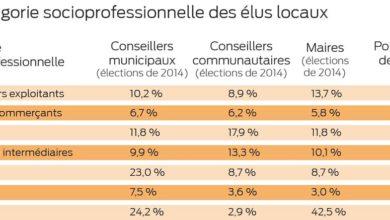 Photo of Statistiques : 13,7 % des maires sont agriculteurs