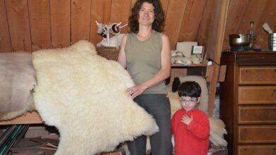 Photo of Des chaussons en peau de mouton