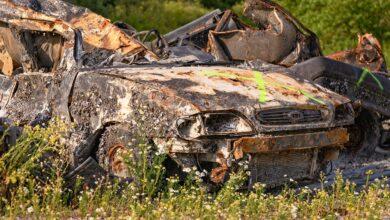 Photo of Une épave de voiture sur un terrain privé : risque de sanction