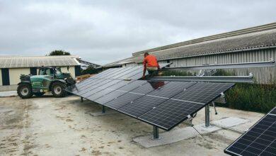 Photo of Des panneaux au sol pour réduire la facture d'électricité