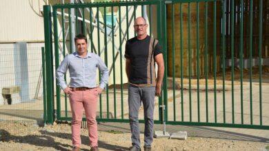 Photo of La clôture sécurise l'élevage de porc