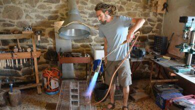 Photo of Rémi fabrique des bols chantants