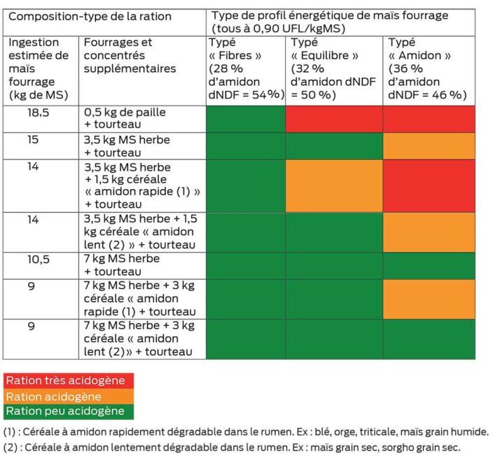 P 20 Profil Maïs Et Ration 4